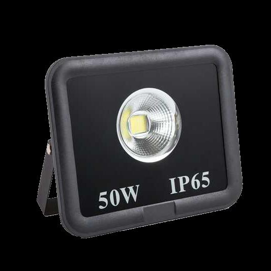 Zhongshan supplier COB lighting source narrow beam angle 90 waterproof IP65 6500K 50w led flood light