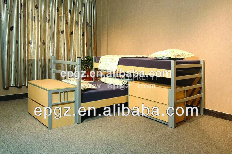 De madera para adultos de la cama para dos personas camas for Cama para dos