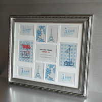 Plastic Multi Family Love Photos Collage Picture Frames 4x6 6x8