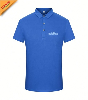 Factory Custom badges embroidery 200 gsm polo t-shirt party