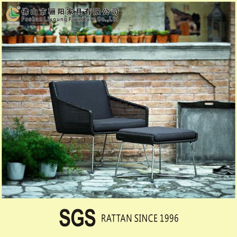 2016 New Design Synthetic Garden Wicker Sofa Patio Balcony Chairs Cheap Outdo