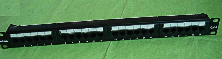 Cat6 UTP/एफ़टीपी 24/48 बंदरगाह पैच पैनल