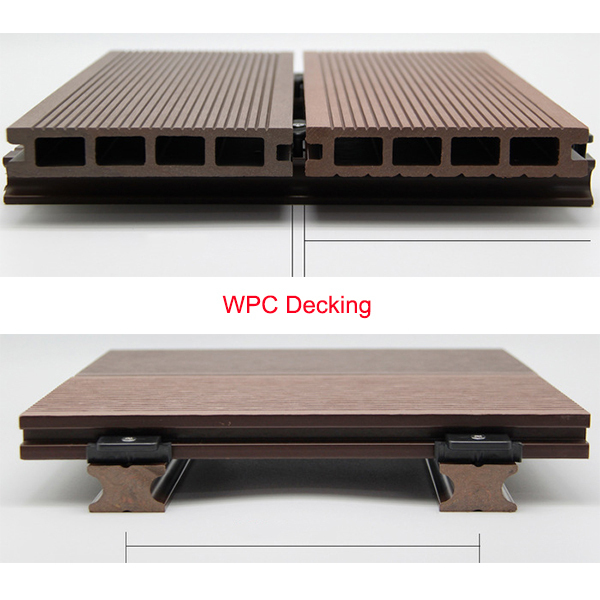 Y star wpc outdoor wpc decking wood plastic composite for Wpc decking