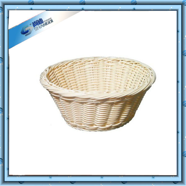 Handcrafted Corn Leaf Straw Bread Basket