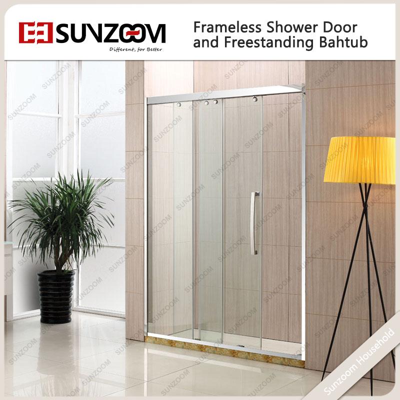 List Manufacturers of 3 Panel Sliding Shower Door, Buy 3 Panel ...