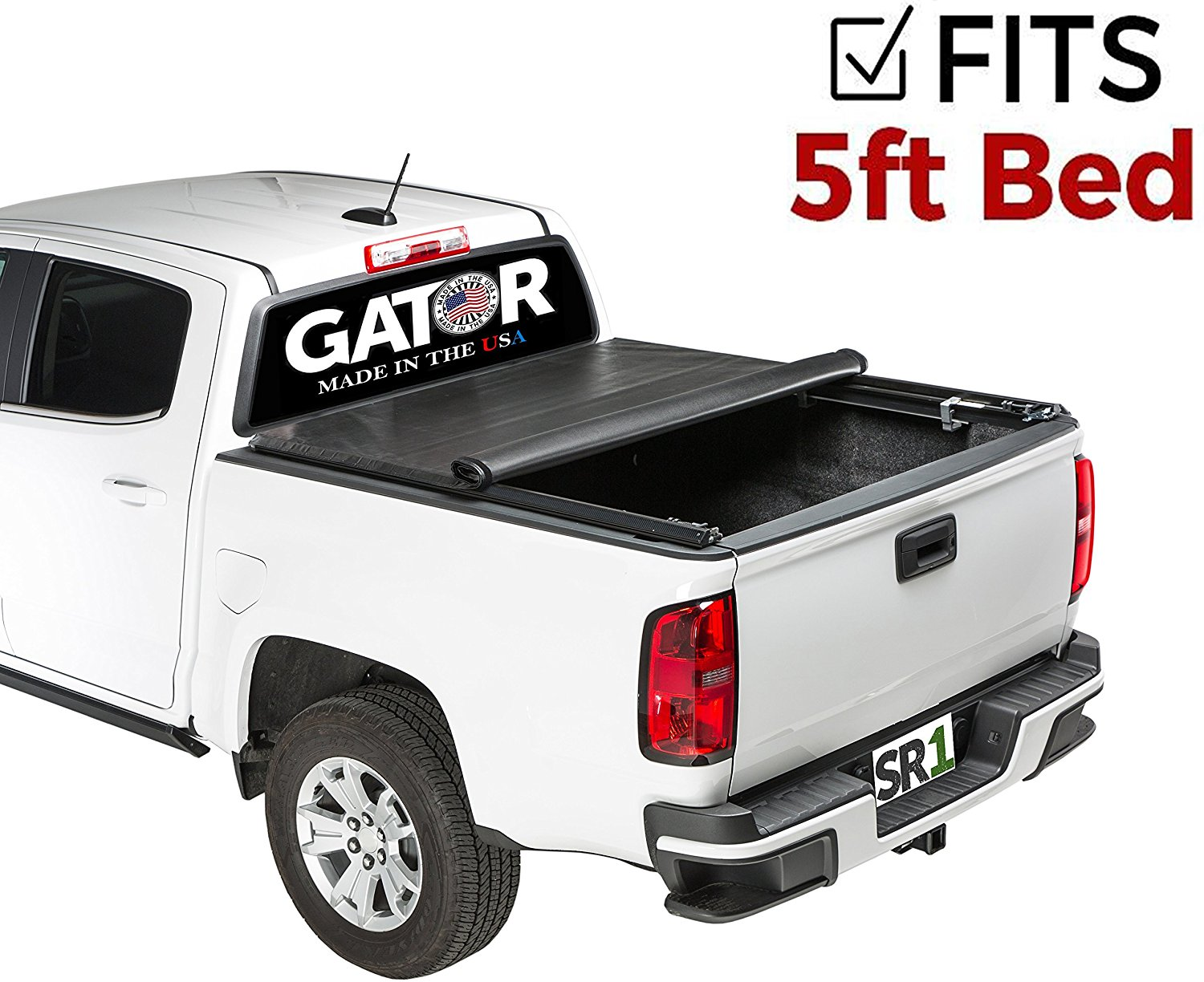 Buy Gator Sr1 Premium Roll Up Truck Bed Tonneau Cover 2014 2018 Chevy Silverado Gmc Sierra 6 5 Ft Bed In Cheap Price On Alibaba Com