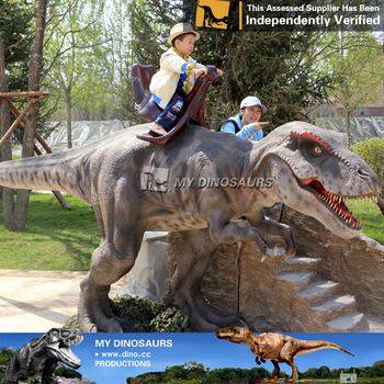MY Dino-C007 Kids ride coin operated dinosaur ride for sale