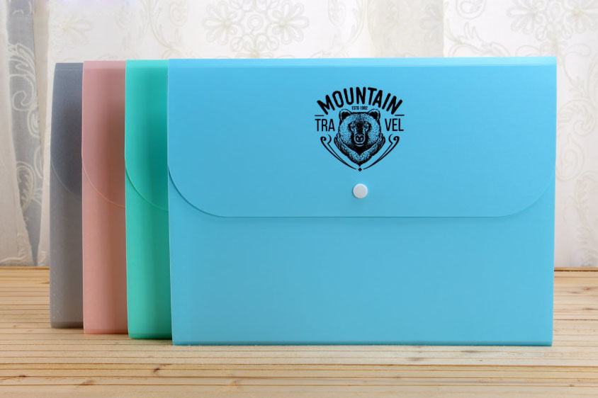 Oem low price A4 6 pockets printing document file folder with customize logo design