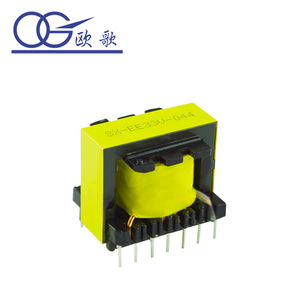 Auto EE33 12v pcb transformer, horizontal battery charger transformer