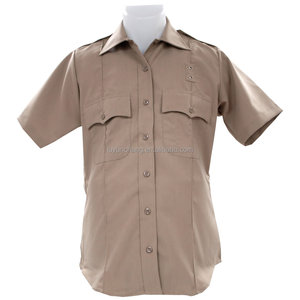 Short sleeve security guard uniform shirt