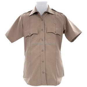 Short sleeve security guard uniform shirt