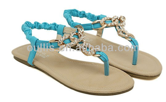 New Fashion Flat Sandals 2013 Nice And Cheap Sandals For Girls ...