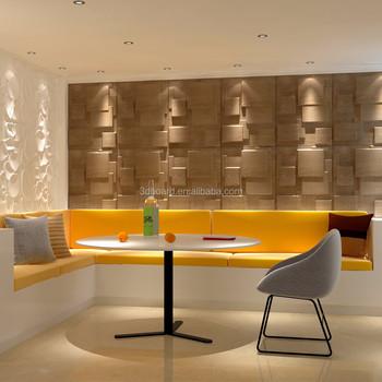 Latest Design For Interior Decorative Wood Panel Wall Cladding
