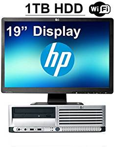 """HP Desktop Computer Bundle DC7700 with HP 19"""" inch Monitor and 1TB Hard Drive. Free Mouse and Keyboard"""