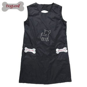 China factory wholesale Waterproof Pet Grooming Apron with pockets