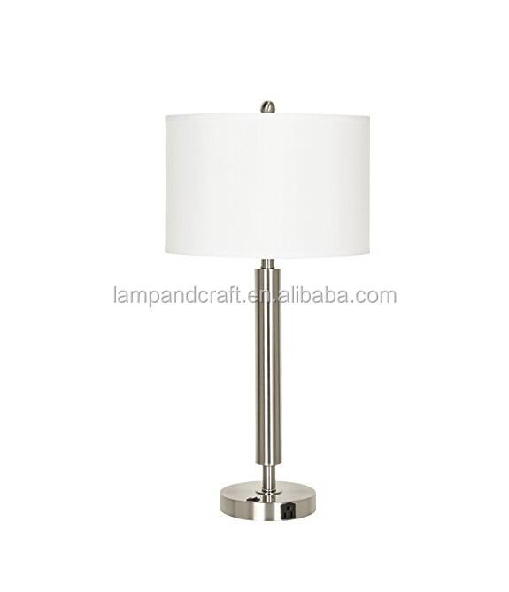 Brush Nickel Lamp Set Floor Lamp Matching Table Lamps