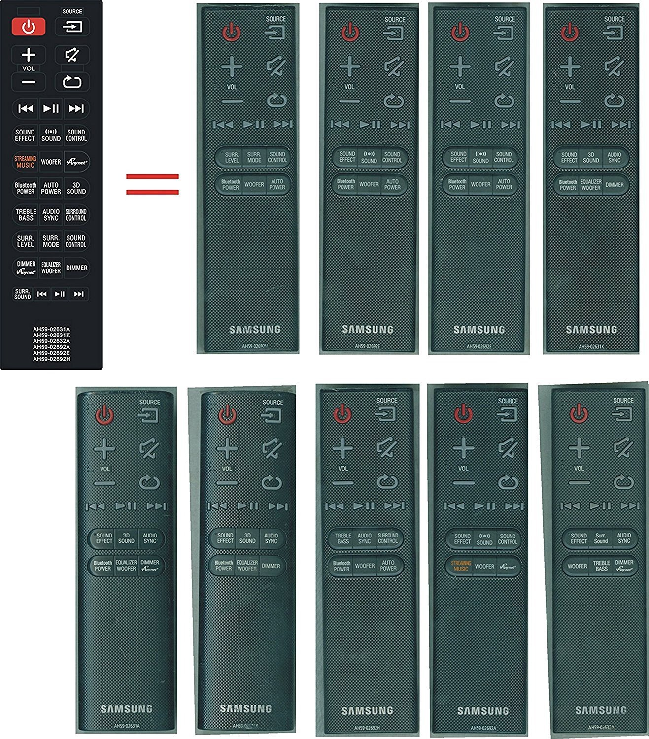 Buy New AH59-02631K Replaced Remote Control fit for Samsung