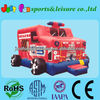 Fire Truck inflatable castle for kids jumpers with best price