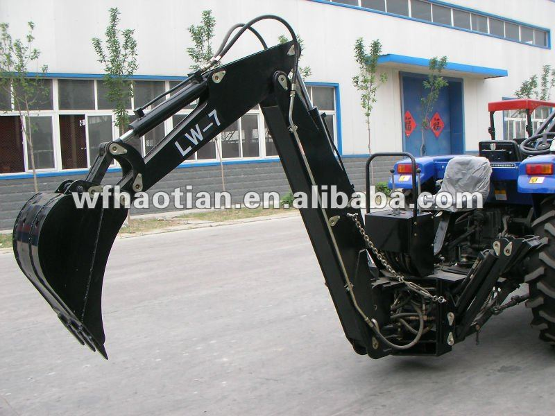 Mini Garden tractor Backhoe LW-6,7,8,better price &higher quality