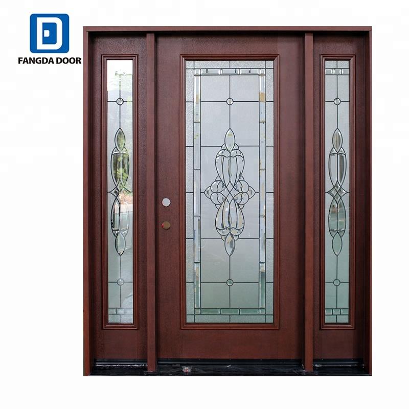 Fangda Fiber Glass Luxury Front Door Design Buy Luxury Front