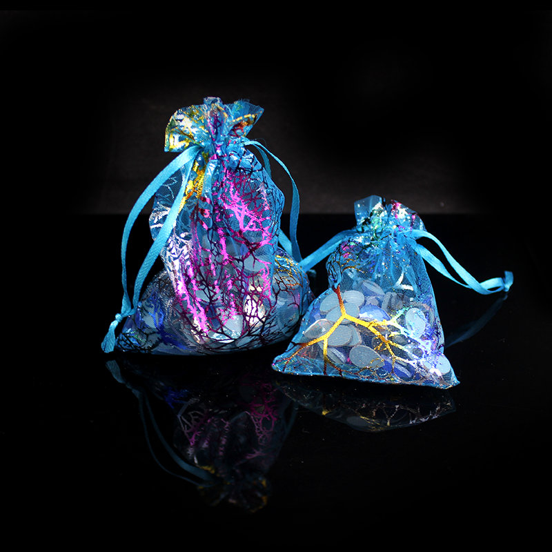 Customized Organza Bag 7*9cm Packaging Favor Wedding Bags Pouches Gift Bag