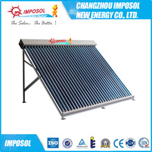 Glass Pressurized Evacuated Tube Heat Pipe Solar Collector