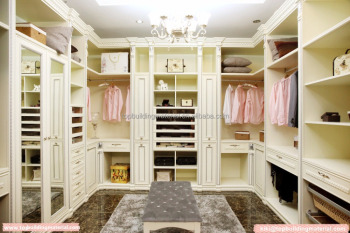 China made import custom italian wardrobe walk in closet