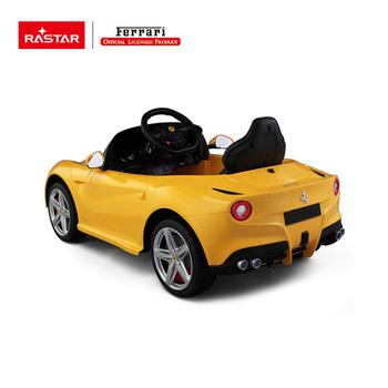 RASTAR Ferrari Kids Electric Car Ride On Car Pedal Car For Kids