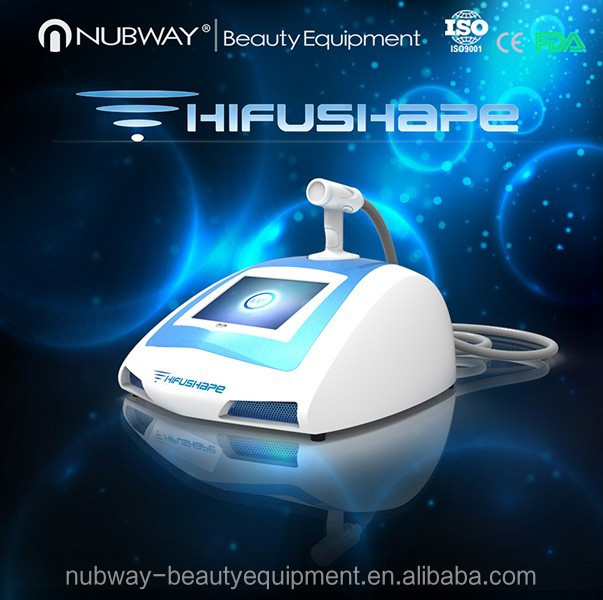 2015 Most New Design!! Portable HIFU high intensity focused ultrasonic device for body slimming ultrasonic fat removal machine