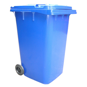 Plastic Outdoor industrial Garbage Bin 95 Gallon Recycling Dustbin with Handle