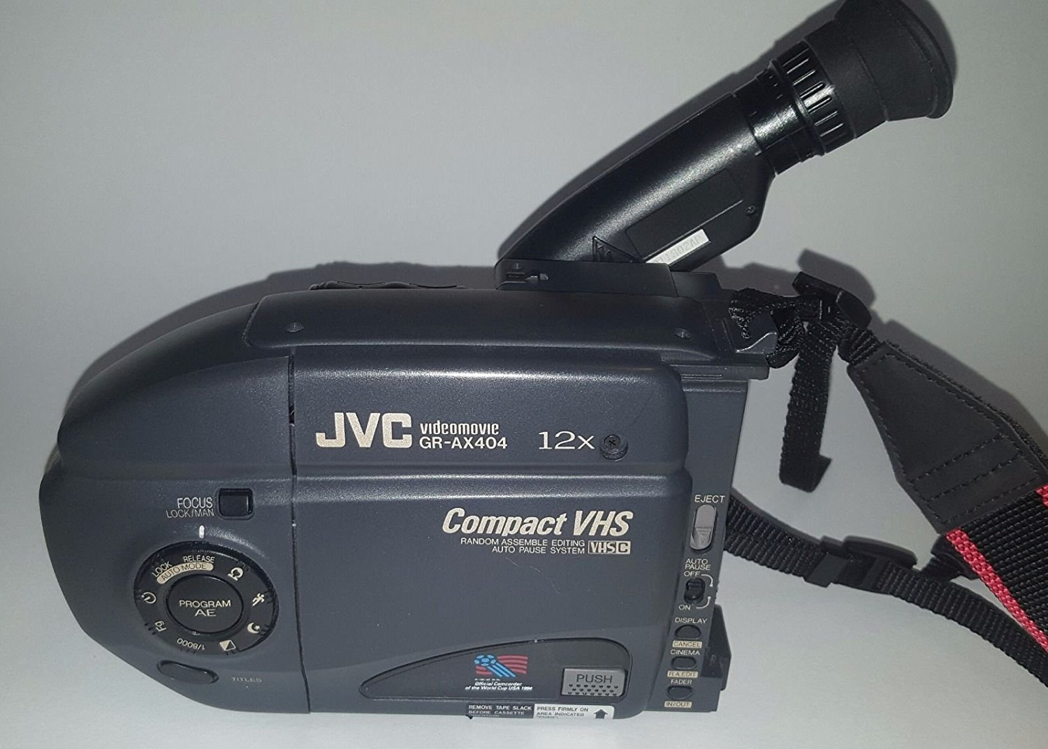 JVC Camcorder Model GR-AX404 Compact VHS-C