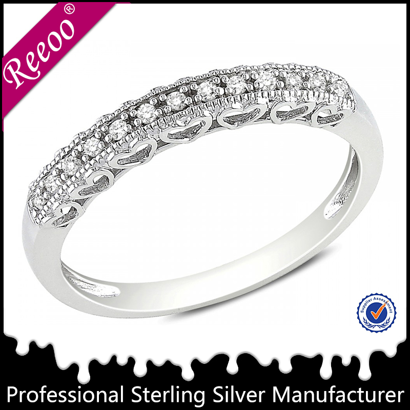 925 Silber Trauringe charming silver wedding rings engagement rings