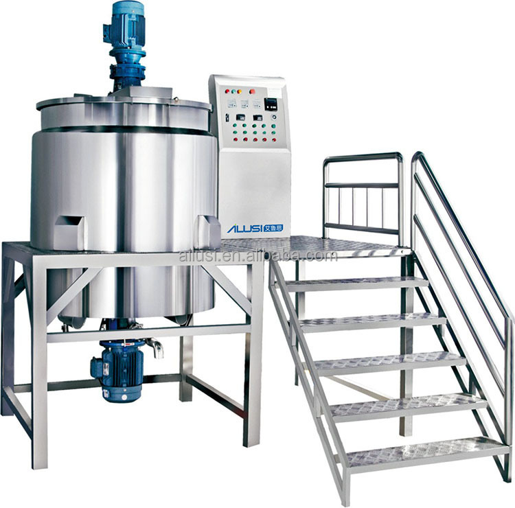 siemens motor stainless steel chemical mixing tank