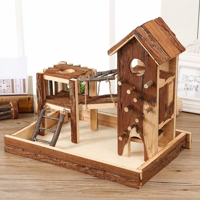 niet toxische natuurlijke grenen houten kasteel voor hamster cavia fret konijn rat muizen buy. Black Bedroom Furniture Sets. Home Design Ideas