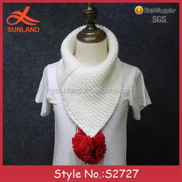 S2727 Nuevo Punto Crochet Moda Yong Niños Bufandas Cuello Bufanda ...