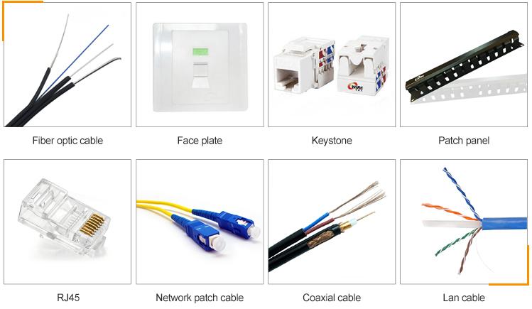 Conector cat5e cat6 cat7 rj45 de alta qualidade para cabo de rede sólido encalhado 8p8c banhado a ouro rj45 plug com utp