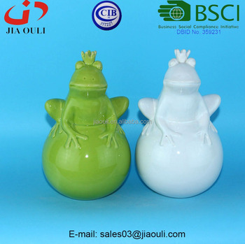 Bsci audit factory easter gifts ceramic cute frog prince on ball bsci audit factory easter gifts ceramic cute frog prince on ball figurines novelty frog figurine negle