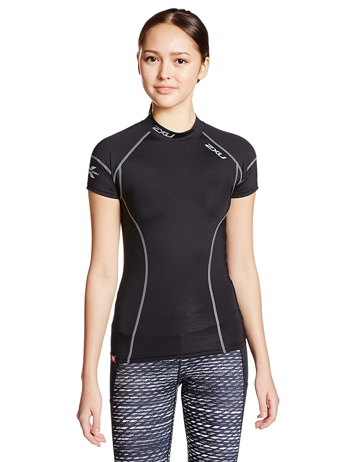 2XU Women's Elite Compression Short Sleeve Top