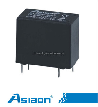 ZC32F10a miniature pcb 4pin 6 volt relay View 6 volt relay