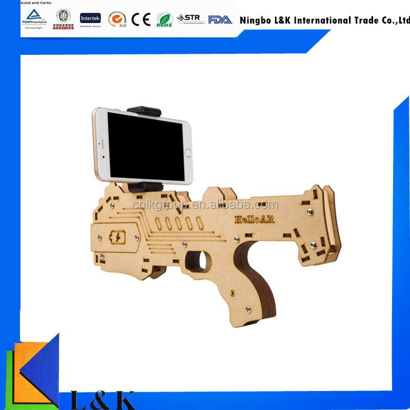 2017 Hot selling 3D bluetooth reality AR game player shooting gun