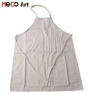 Cheap Bulk Wholesale 100% Cotton Painting Apron for Adult