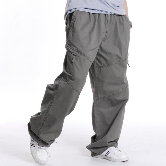 d6ab5500a43d8 Get Quotations · Men Trousers Plus Size 3XL 4XL 5XL 6XL Outdoor Casual Mens  Cargo Pants Spring Autumn Male