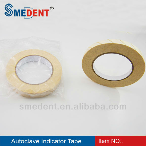agent Dental autoclave tape , Process Indicator Tape