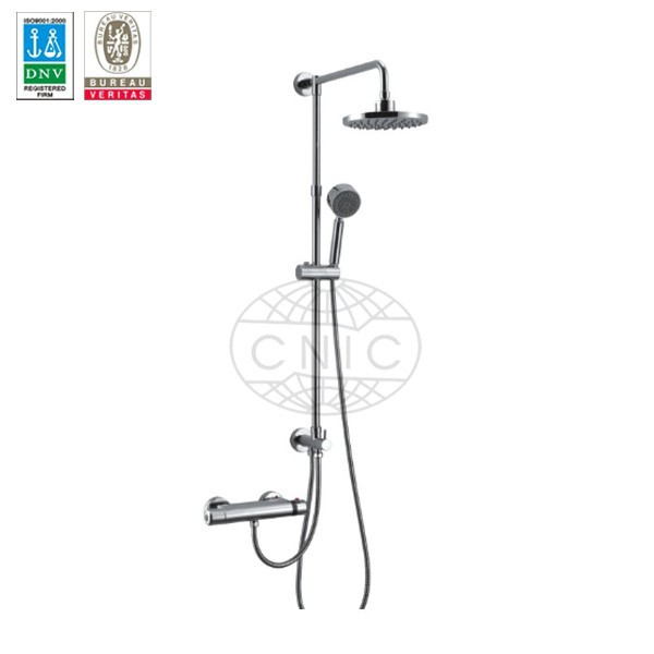 Bathroom wall mounted thermostatic shower mixer FD-8288C