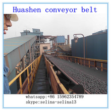 Silicon minerals underground used rubber large capacity custom weight lifting conveyor belt