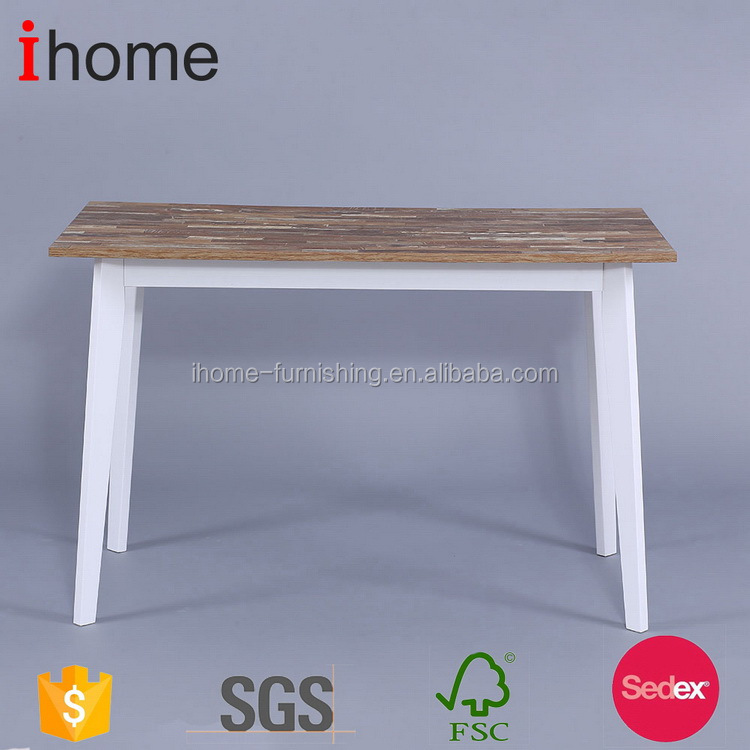 Newly design hot sale high end pedestal dining table set