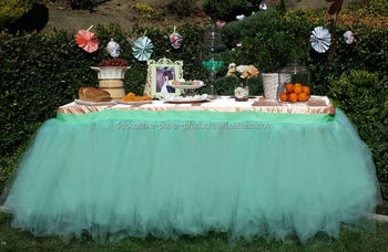 new blue tutu table skirt planning ideas supplies tulle tutu table skirt candy buffet