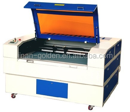 6090 laser cutting machine with 100W laser power Cutting acrylic 5-16mm , ply wood 8-15 mm