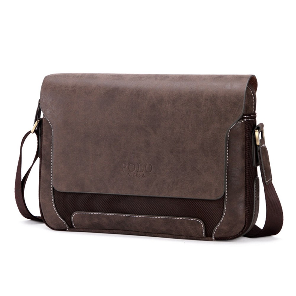 VICUNA POLO 2017 Trending Products PU Leather Men Messenger Bags Oxford  Crossbody Casual Shoulder Bag Men 7d10c68d9f