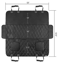 Luxury Quilted Large Car Pet Seat Cover